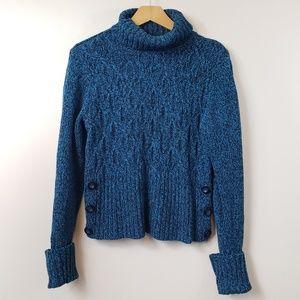 Apt. 9 Petite Chunky Cable Turtleneck Sweater
